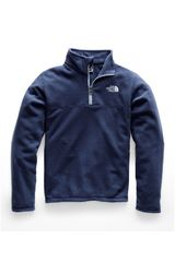 Casaca de Hombre The North Face Azul b glacier 1/4 zip