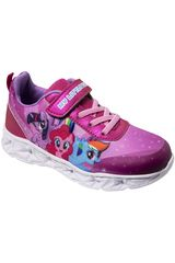 My Little Pony Morado de Niña modelo 2mpzxi19201 Casual Zapatillas Walking Urban Deportivo