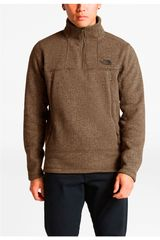 The North Face Marron de Hombre modelo m gordon lyons alpine 1/4 zip Deportivo Casacas