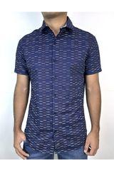 ROCK & RELIGION Azul de Hombre modelo axel Casual Camisas