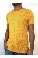 ROCK & RELIGION Amarillo de Hombre modelo joriel Casual Polos
