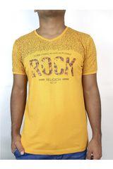ROCK & RELIGION Amarillo de Hombre modelo dustin Polos Casual