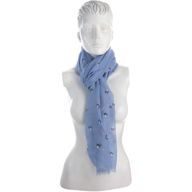 Bufanda de Mujer Platanitos Azul 10031025