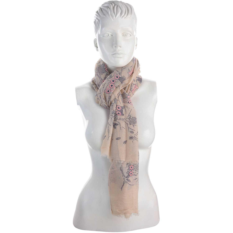 Bufanda de Mujer Platanitos Beige 10081025