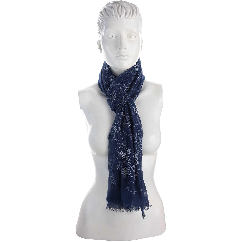 Bufanda de Mujer Platanitos Azul 10081025