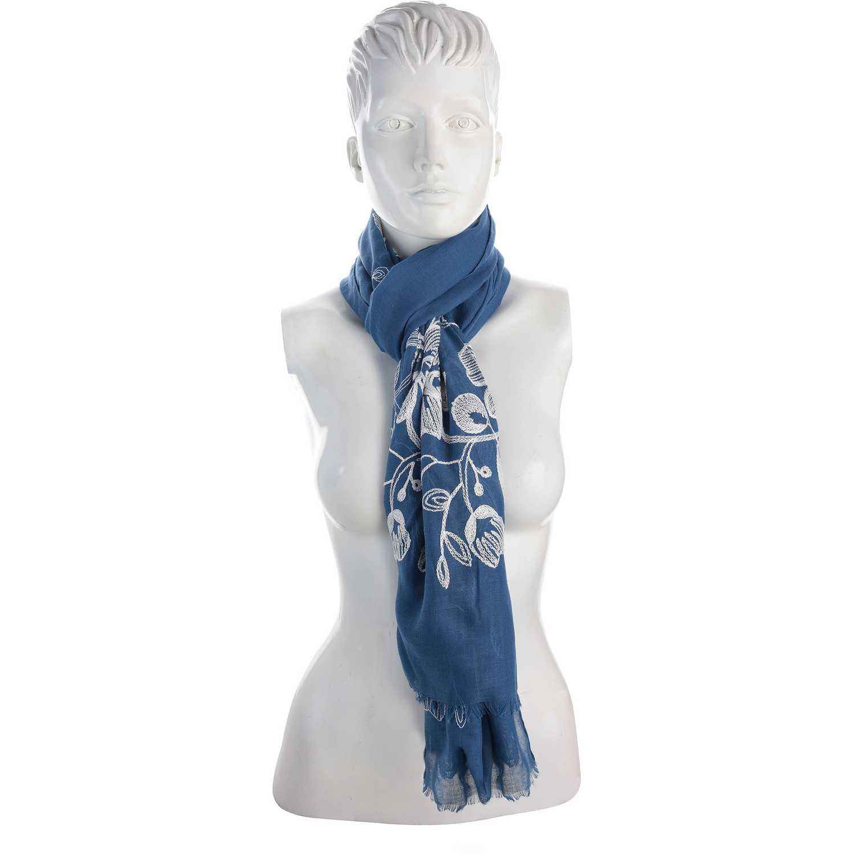 Bufanda de Mujer Platanitos Azul 10521025