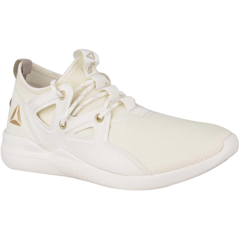 Zapatilla de Mujer Reebok Blanco / dorado reebok cardio motion