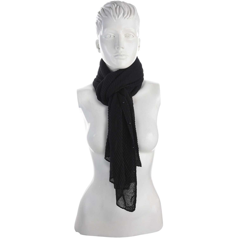 Bufanda de Mujer Platanitos Negro 10231025