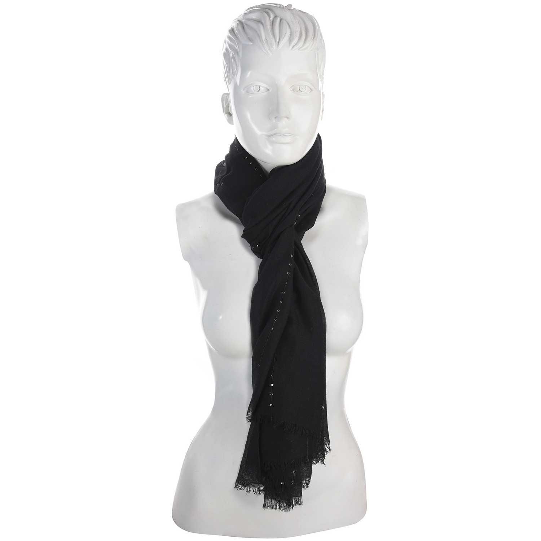 Bufanda de Mujer Platanitos Negro wh1121001