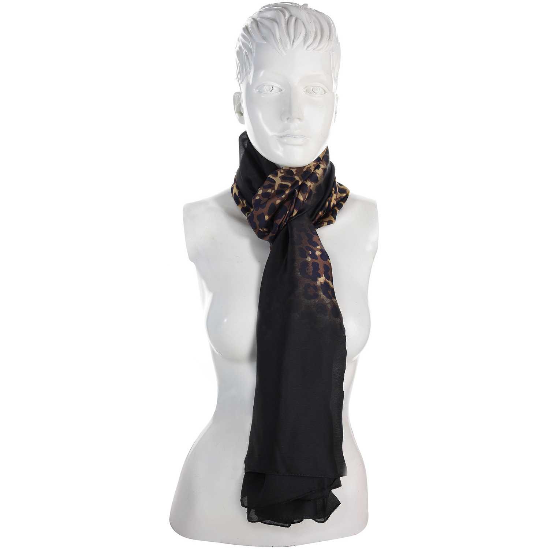 Bufanda de Mujer Platanitos Negro 18elm133229