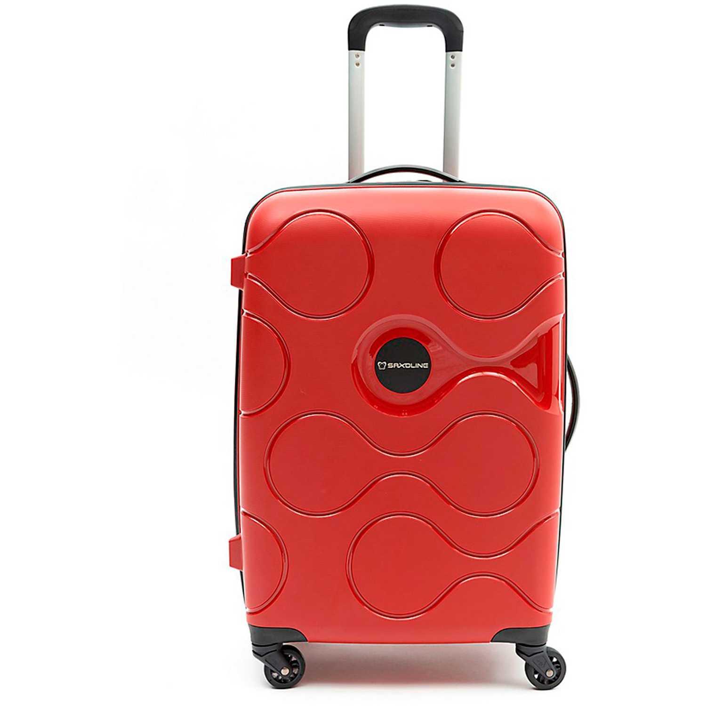 Maleta  Saxoline Rojo spinner 67/24 red atlas