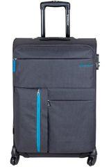 Saxoline Plomo de Hombre modelo maleta 632 grey rio Maletas