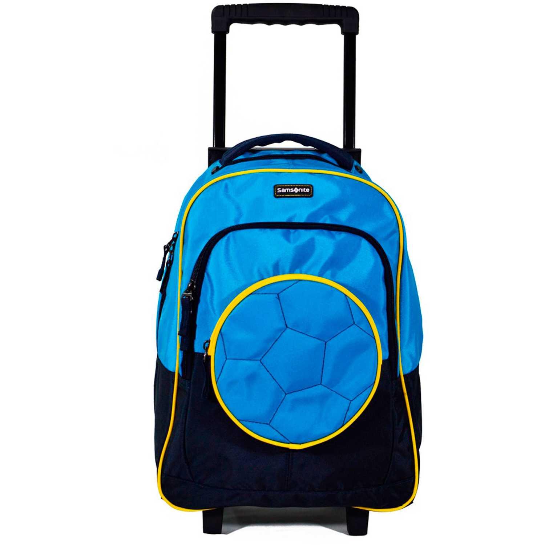 Maleta  Samsonite Celeste / amarillo trolley blue/yellow motion kick