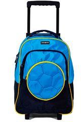Samsonite Celeste / amarillo de Hombre modelo trolley blue/yellow motion kick Maletas