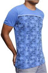 ROCK & RELIGION Celeste / azul de Hombre modelo mink Casual Polos