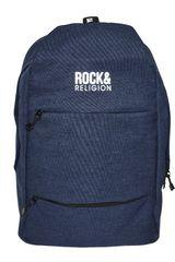 ROCK & RELIGION Azul / blanco de Hombre modelo galder Mochilas