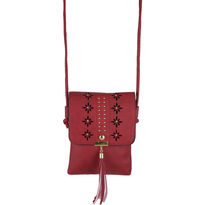 Cartera Casual de Mujer Platanitos Rojo 20051025