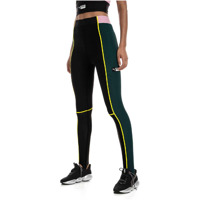 Leggin de Mujer Puma Verde / negro tz highwaist legging stir up