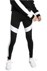 Puma Negro / blanco de Mujer modelo chase legging Leggins Deportivo