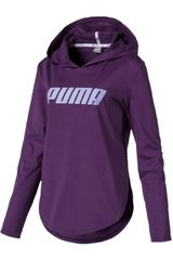 Puma Morado / blanco de Mujer modelo modern sports light cover up Deportivo Poleras