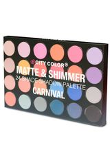 City Color Carnival de Mujer modelo 24 color eyeshadow palette Sombras