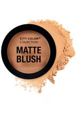 City Color Taupe de Mujer modelo matte blush Rubor Maquillaje