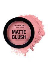 City Color Mauve de Mujer modelo matte blush Rubor Maquillaje