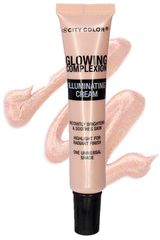 Iluminador de  City Color Rose gold glowing complexion illuminating cream