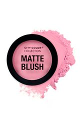 City Color Pink de Mujer modelo matte blush Maquillaje Rubor