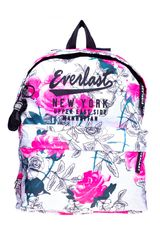 Everlast Blanco / rosado de Mujer modelo mochila bts picadilly Deportivo Mochilas