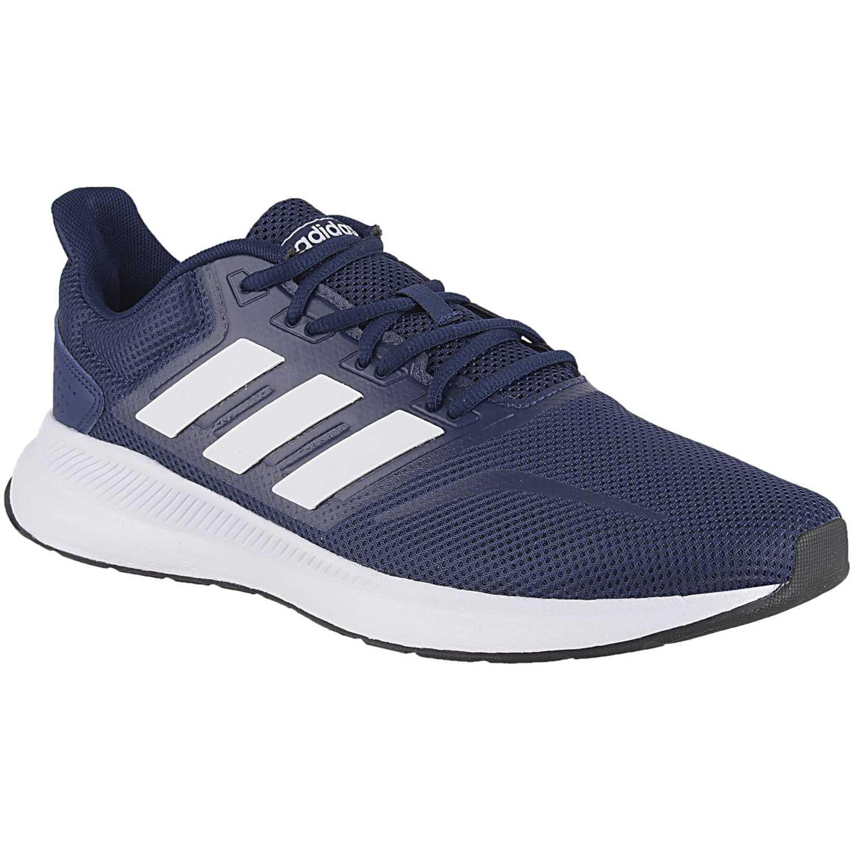 Zapatilla de Hombre Adidas Azul / blanco runfalcon