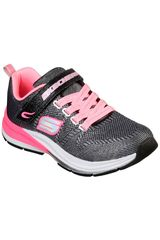 Skechers Negro de Niña modelo double strides - duo dash Urban Deportivo Casual Zapatillas Walking