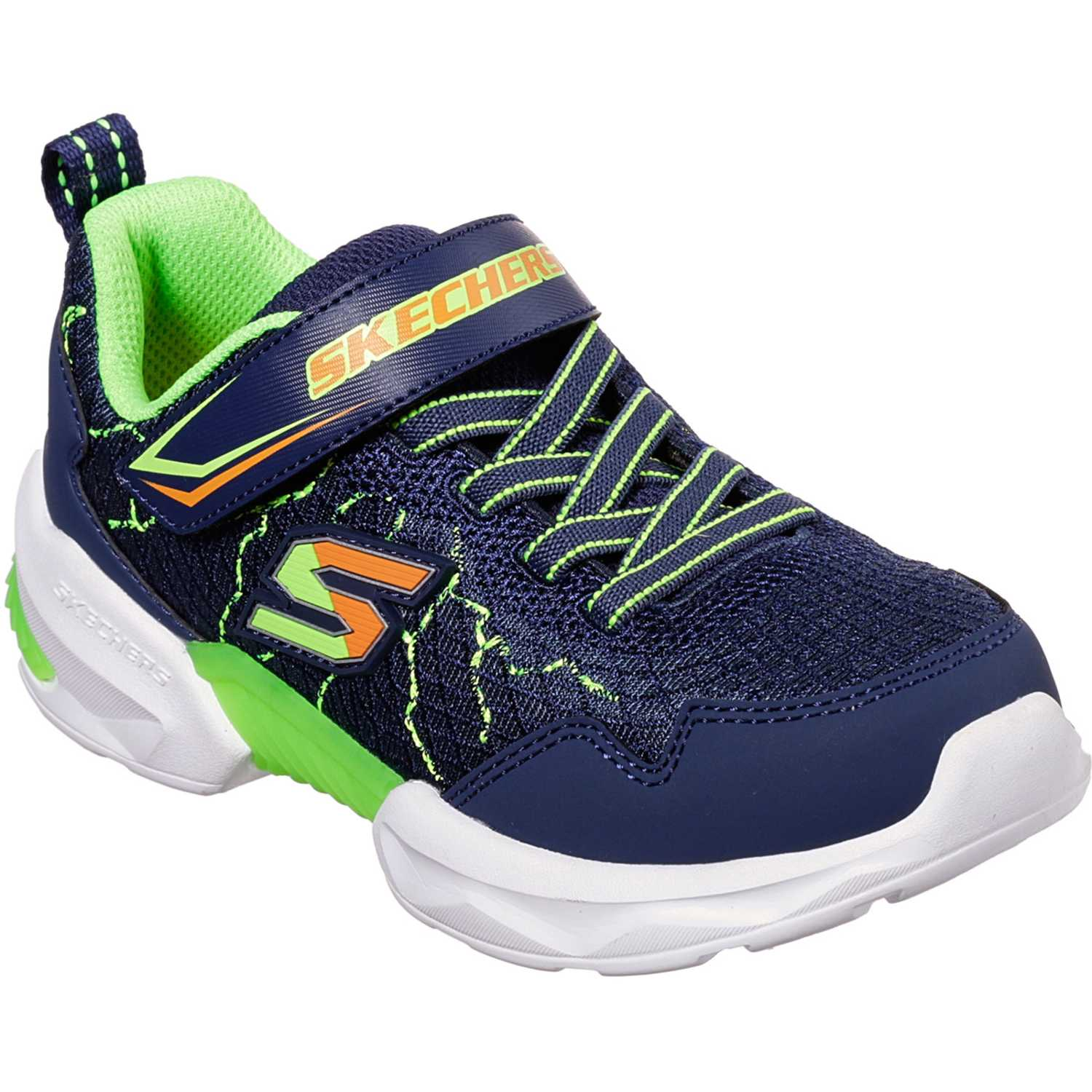 Zapatilla de Niño Skechers Navy techtronix - power spike