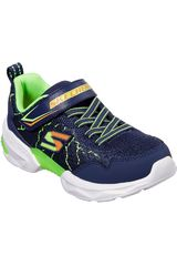 Skechers Navy de Niño modelo techtronix - power spike Walking Zapatillas casual Casual Zapatillas Deportivo Urban