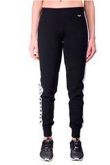 Everlast Negro / blanco de Mujer modelo pantalon hold out Pantalones Deportivo