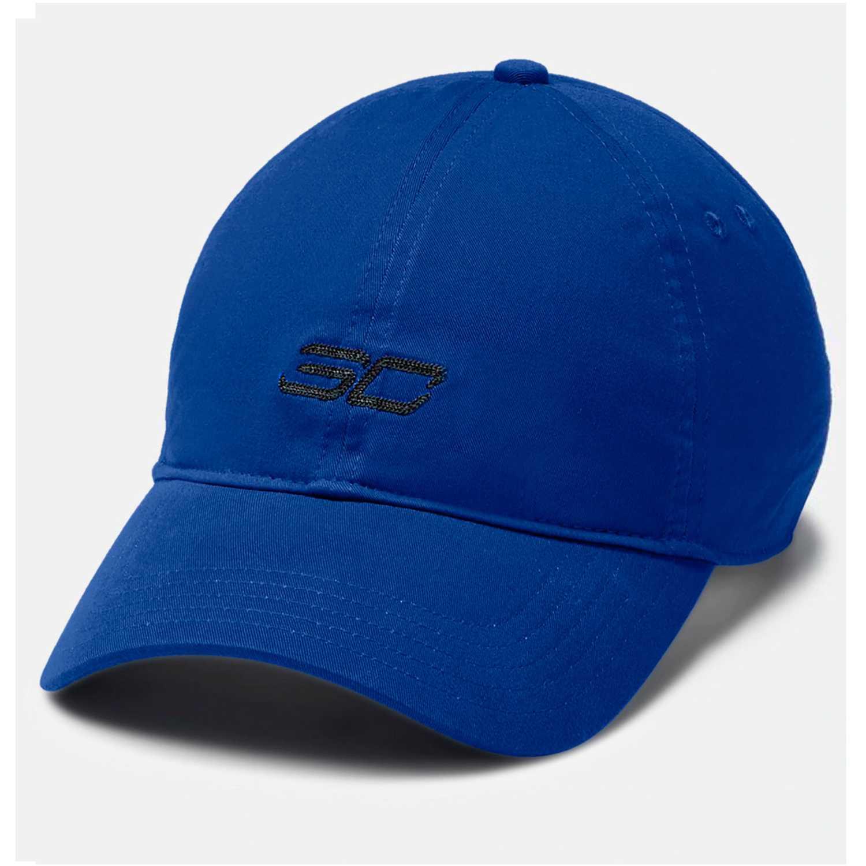 Gorro de Hombre Under Armour Azul / negro men's sc30 core dad cap-blu