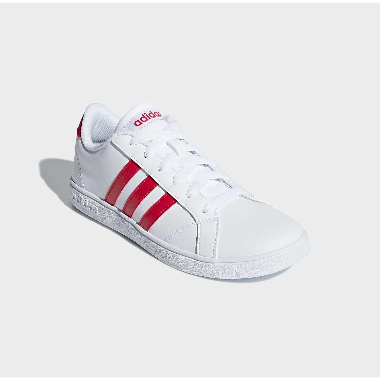 Zapatilla de Jovencita Adidas Blanco baseline k