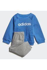 Buzo de Jovencito Adidas Azul i lin jogg fl