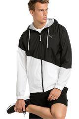 Puma Negro / blanco de Hombre modelo a.c.e. windbreaker Casacas Deportivo