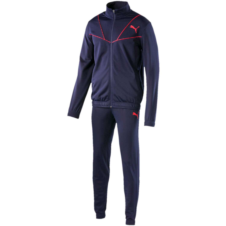 Buzo de Hombre Puma Azul / rojo sporty tricot suit cl