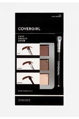 Paleta de sombras de  Covergirl Rich Brown 705 brow brow kit