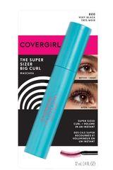Covergirl Very Black de Mujer modelo mascara the super sizer big curl Mascara de pestaña Ojos