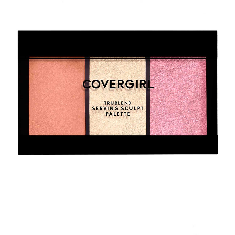 Paleta de contornos  Covergirl Rose Nights trublend serving sculpt contour palette