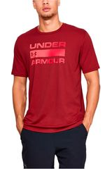 Polo de Hombre Under Armour Vino ua team issue wordmark ss