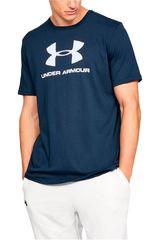 Polo de Hombre Under Armour Navy sportstyle logo ss