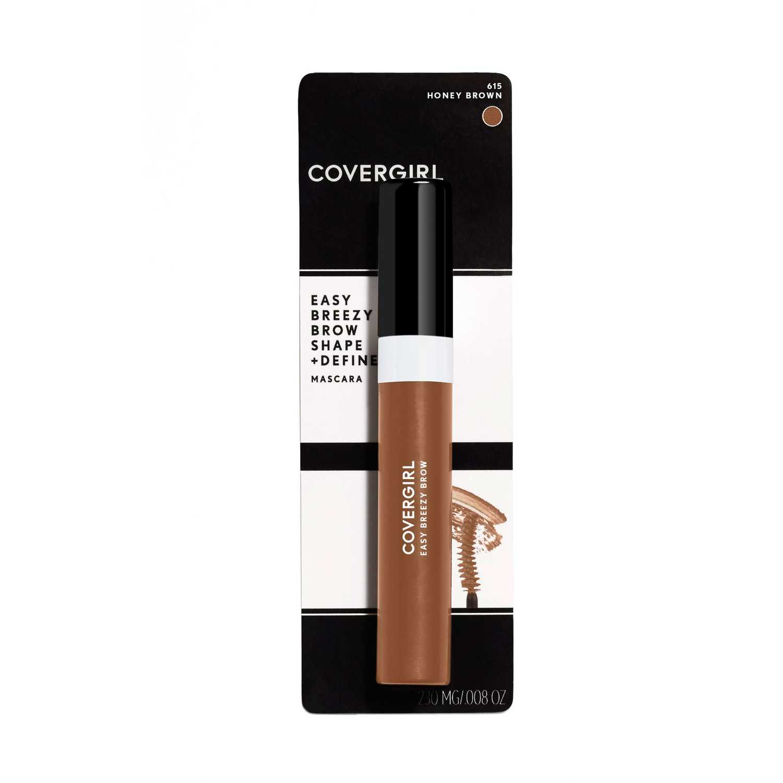 Máscara para cejas  Covergirl Honey Brown brow shape&define brow mascara