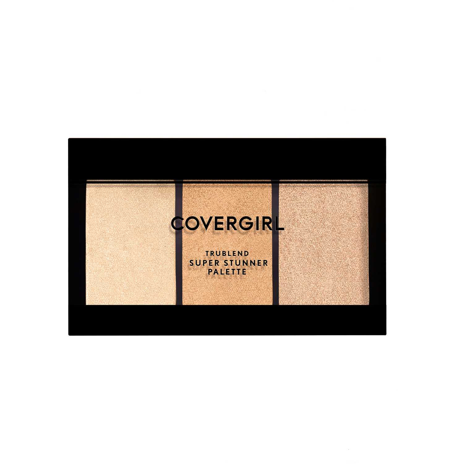 Iluminador  Covergirl Glowing Up trublend super stunner highlight palette