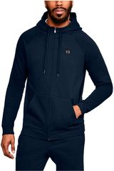 Casaca de Hombre Under Armour Navy rival fleece fz hoodie-nvy
