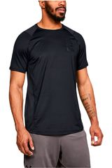 Polo de Hombre Under Armour Negro mk1 ss logo graphic-blk