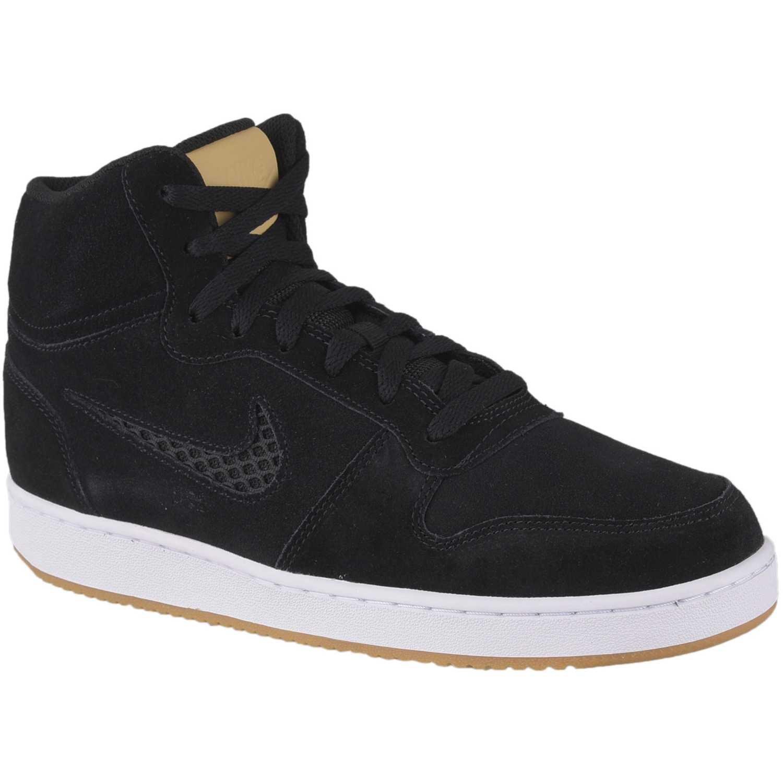 Zapatilla de Hombre Nike Negro / blanco nike ebernon mid prem